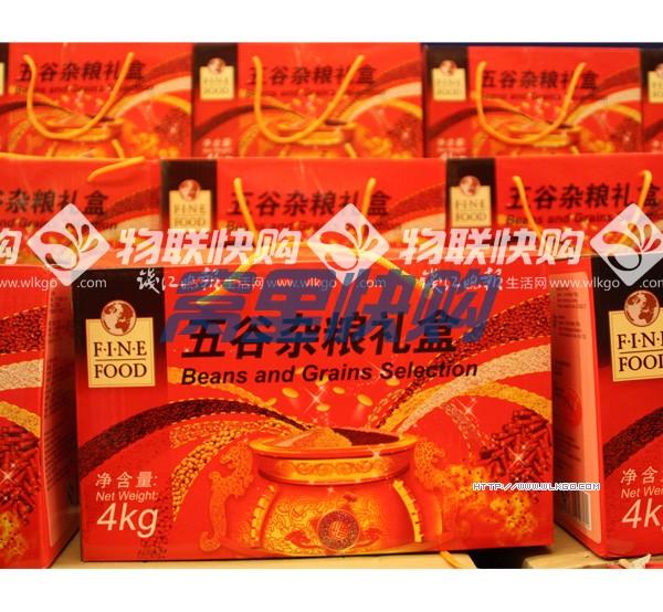 inefood五谷杂粮礼盒4kg 盒