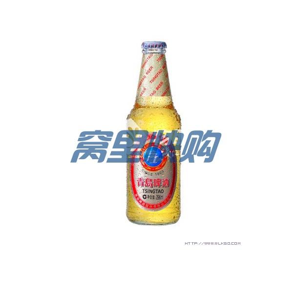 金标青岛啤酒296ml/瓶*24