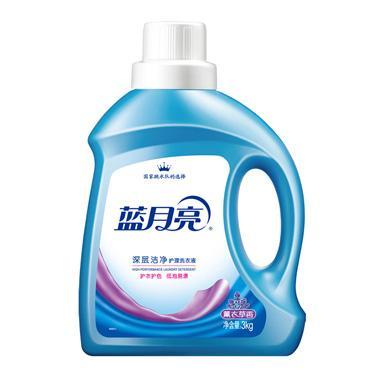 蓝月亮薰衣草深层洁净护理洗衣液 3kg/瓶 5514