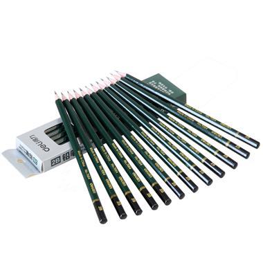 【铅笔】得力2B铅笔7084 12支/盒