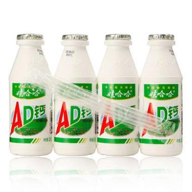 娃哈哈AD钙奶 220ml*4瓶 1085