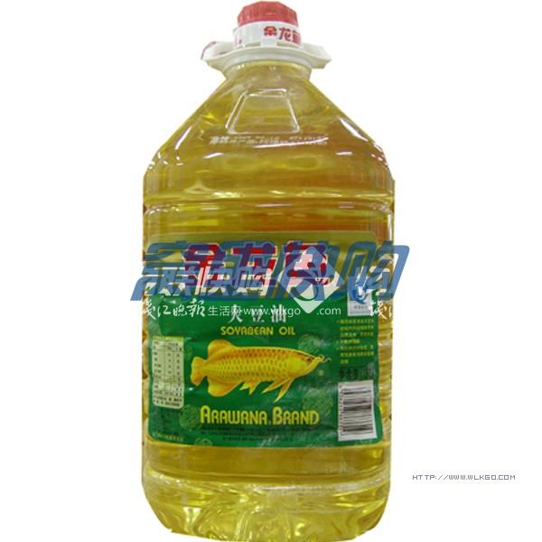 金龙鱼大豆油5l/桶