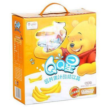 牛奶香蕉面膜_【聚优惠】伊利QQ星营养果汁酸奶饮品(香蕉味) 200ml*16罐/箱 ...