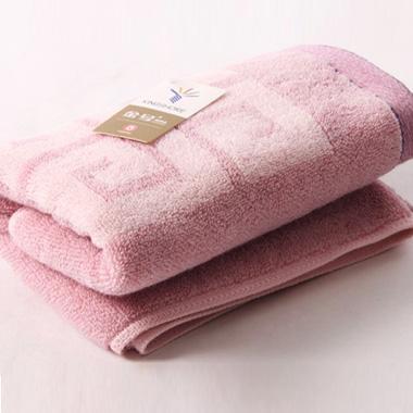 金号舒特曼花式线提缎面巾 紫红色 72cm*36cm/113g 5247