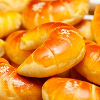 【烘焙】彼诺金牛角面包 80克