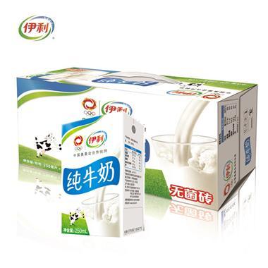伊利纯牛奶 250ml*24盒/箱 2052