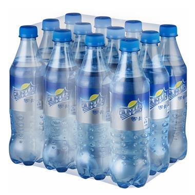 【可口可乐】雪碧零卡清爽柠檬味汽水 500ml*12瓶/箱