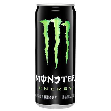 【可口可乐】Monster魔爪能量型维生素运动饮料 330ml/罐 1175