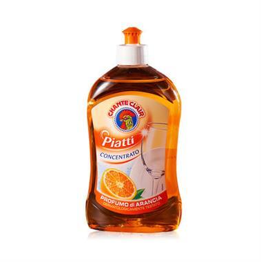 【意大利】大公鸡管家洗洁精香橙味500ml/瓶 0254