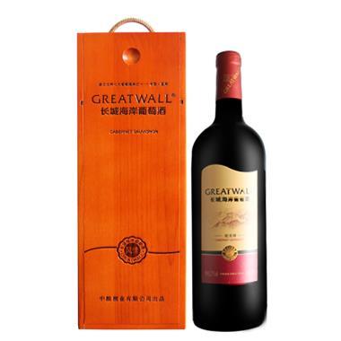 长城海岸风情蛇龙珠干红葡萄酒 750ml/瓶 1225