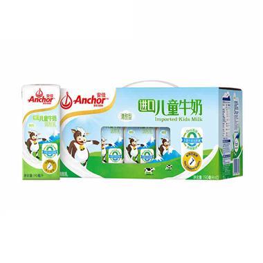 【新西兰】安佳进口儿童牛奶190ml*12盒/提 7071