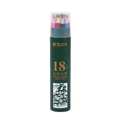 晨光彩铅PP筒装彩色铅笔18色AWP34307 3006