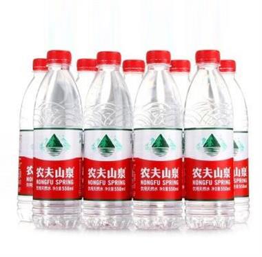 农夫山泉天然饮用水 550ml*12瓶/箱