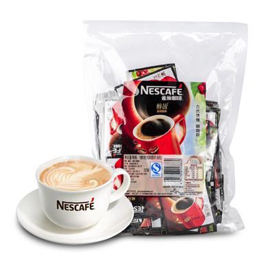 雀巢咖啡醇品咖啡袋装 1.8g*100包 8660