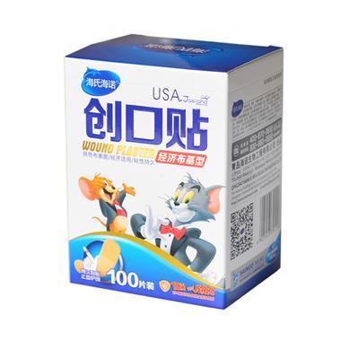 海氏海诺 经济布基型创口贴 100片/盒 4116