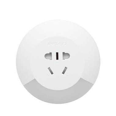 品胜创意led光控感应小夜灯带开关插座 3366
