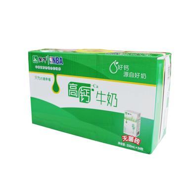 蒙牛高钙牛奶250ml*16盒 0809