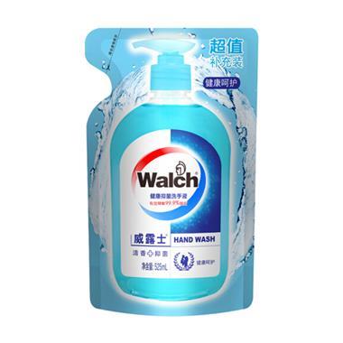 威露士健康抑菌洗手液健康呵护袋装525ml/袋 0384