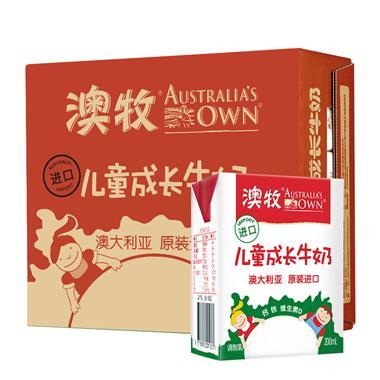 【澳大利亚】澳牧进口儿童成长牛奶200ml*15盒/箱 1109