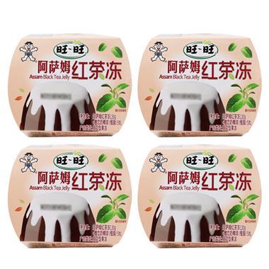 【奶制品】旺旺阿萨姆红茶冻 130g/杯*4