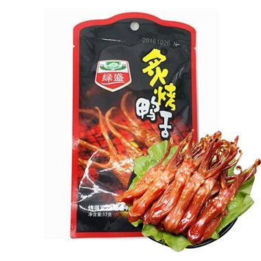 绿盛炙烤鸭舌17g/包 3526