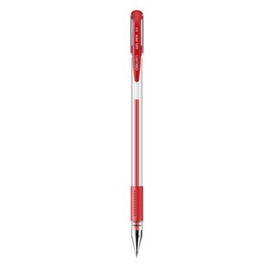 【中性笔】得力中性笔 红色 0.5mm子弹头1支 6600ES 4573