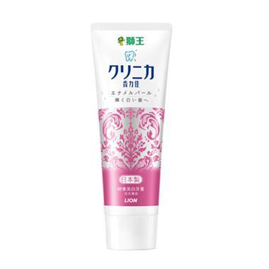 【日本】狮王Lion 齿力佳酵素美白牙膏(百花薄荷)130g/支 1989