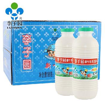 李子园原味甜牛奶450ml*12瓶/箱 0326