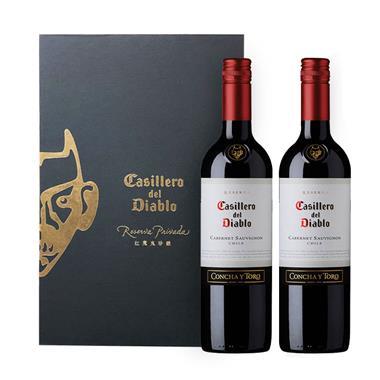 【智利】干露 红魔鬼卡本妮苏维翁红葡萄酒 礼盒装 3178