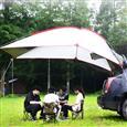 Wind Tour/威迪瑞 户外便携野营烧烤多人车尾帐天幕白色2.4*1.9*2m 2858