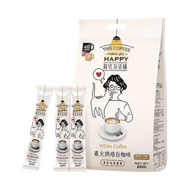 【马来西亚】解忧杂货铺直火烘焙白咖啡880g/袋 6907