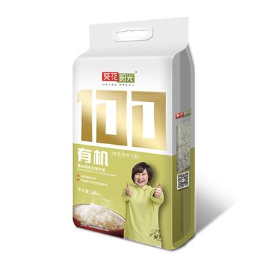 葵花阳光有机稻花香米 2.5kg/袋 1227