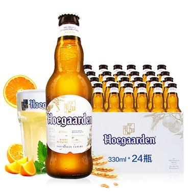 【比利时】福佳白啤小麦精酿 330ml*24瓶/箱 7688