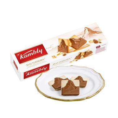 【瑞士】Kambly金宝丽巧克力饼干100g/盒 1004