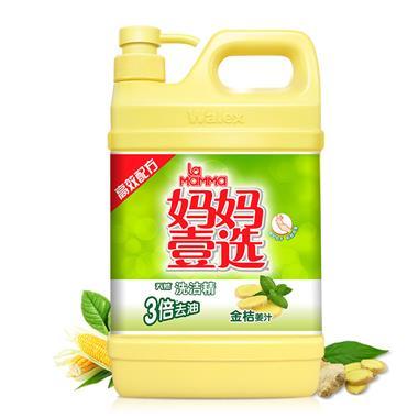 绿劲妈妈壹选洗洁精金桔姜汁香型2kg 1502