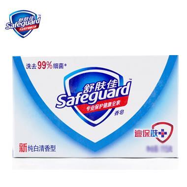 舒肤佳纯白清新香皂(白色) 108g/块 4541