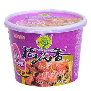 稻花香过桥米线 老坛酸菜牛肉味125g/盒