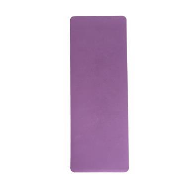 琪志双色瑜伽垫6mmTPE防滑材质配网袋 紫粉色