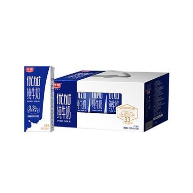 光明优+高品质牛奶250ml*12盒 1332