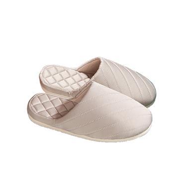 朴西简而不凡女式拖鞋(米色39-40)ps09051