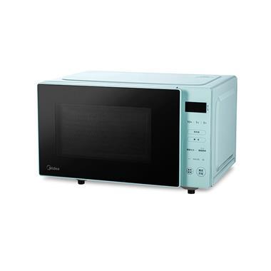 Midea/美的家用平板加热微波炉 20L PM2012  6334