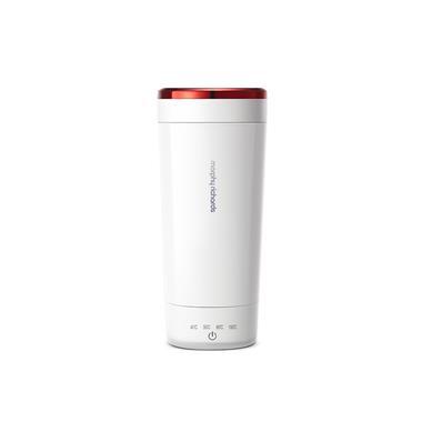 摩飞小型便携式旅行自动加热烧水杯MR6060白色 20205