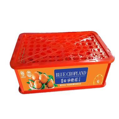 【广西】蓝田农业 砂糖桔砂糖橘  净重约5.3斤精品塑框礼盒装