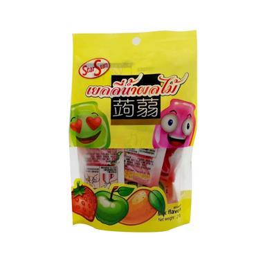 【泰国】StarSun草莓+苹果+芒果可吸果冻210g/袋 01499