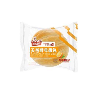 达利园 美焙辰天然酵母面包(香橙味)75g 0238