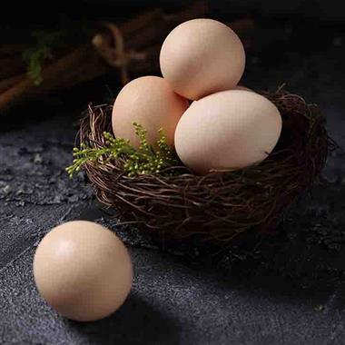 【生鲜禽蛋】土度优选 无抗精选土鸡蛋 30枚装/盒 快递包装